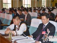 李春荣县长在县十六届人代会二次会议上作政府工作报告