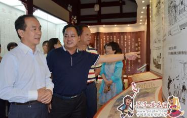 上海市金山区代表团赴景东县考察调研
