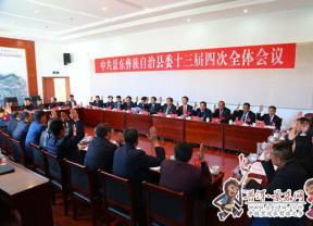 【全委会系列报道】景东县委十三届四次全体会议召开第二次会议