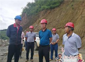 """胡其武到金鸡林水库调研""""河长制""""和项目建设工作"""