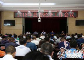 2018年县委经济工作会议召开