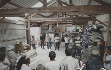 【脱贫路上】大朝山东镇:爱心企业助力脱贫攻坚