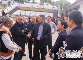 省人大常委会副主任纳杰到景东县调研