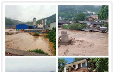 景东境内突降暴雨,13个乡镇不同程度受灾